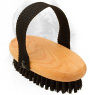 Wooden Bristle Brush for Cane Corso Grooming