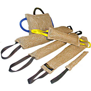 Cane Corso Training supplies jute bite tugs set Professional trainers use