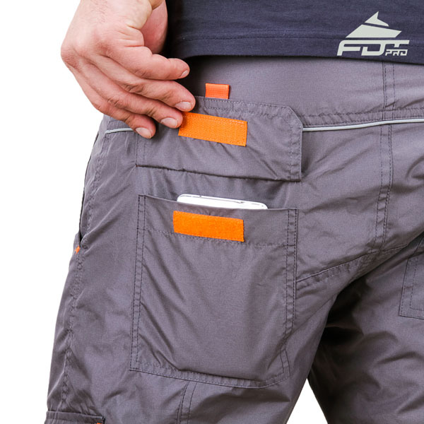 Comfortable Design FDT Pro Pants with Useful Back Pockets for Dog Training
