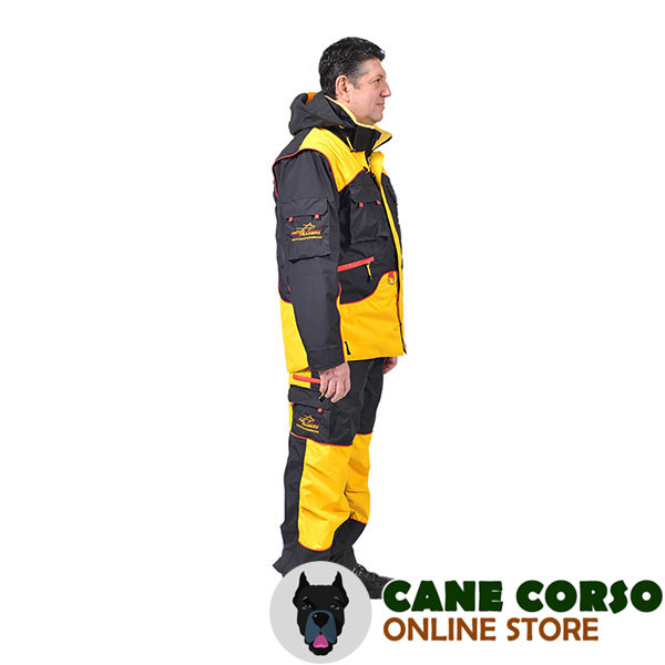 Handy Training Suit with Several Pockets