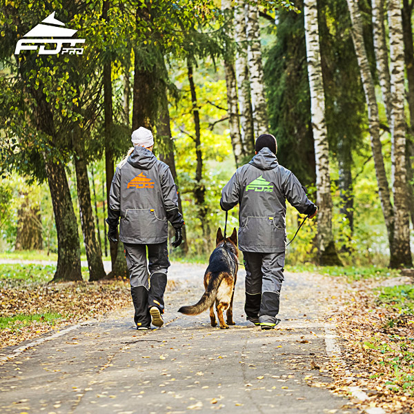 Pro Dog Trainer Jacket of Quality for Any Weather Use
