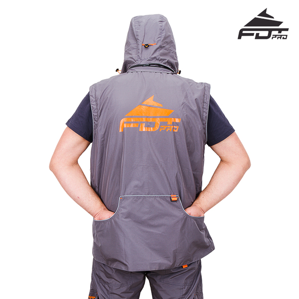 High Quality Dog Tracking Suit Grey Color from FDT Pro Wear