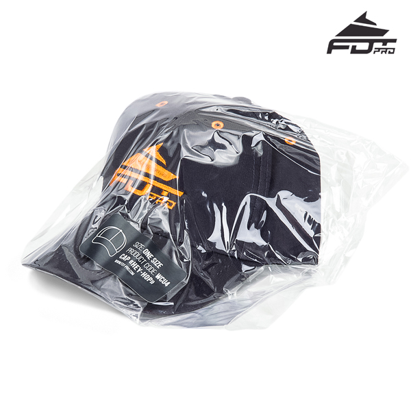 Prepacked FDT Professional Line Dark Grey Color Cap