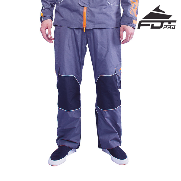 FDT Professional Pants Grey Color for Any Weather Conditions