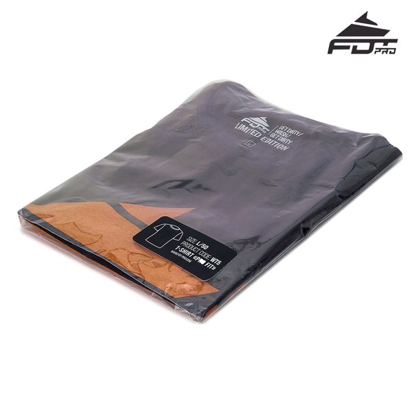 Prepacked FDT Pro Design T-shirt of Dark Grey Color