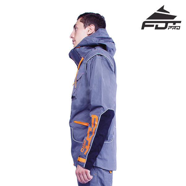 FDT Pro Dog Training Jacket of Fine Quality for Any Weather Conditions