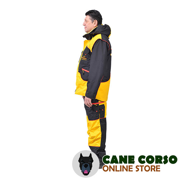 Ultimate in Comfort and Protection Dog Training Suit for Safe Training