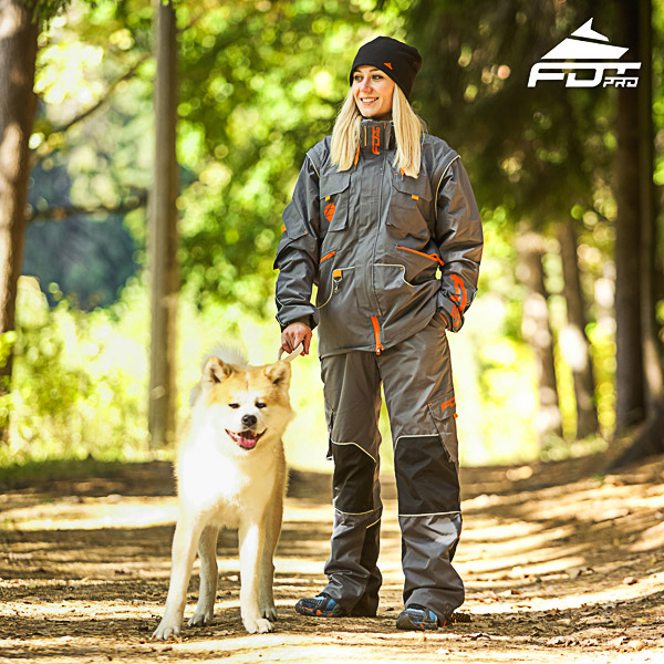 Men / Women Design Dog Training Jacket of Top Quality Materials