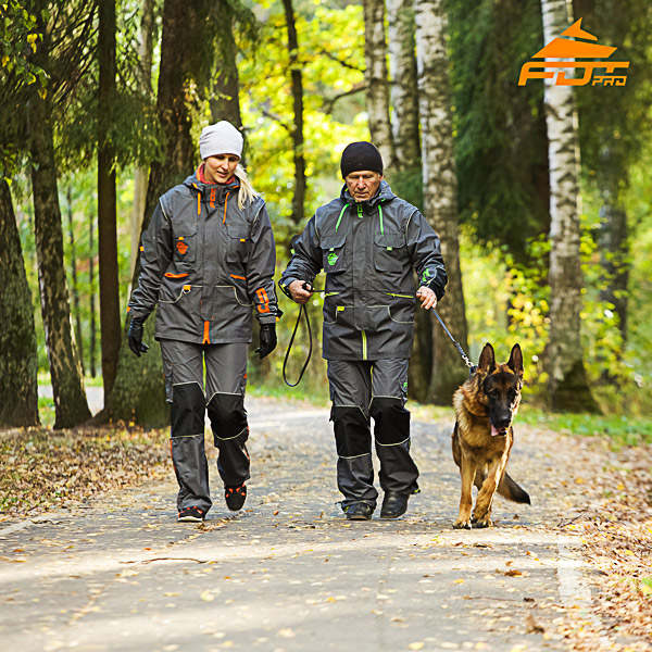 Any Weather Conditions Best quality Dog Tracking Suit for Men and Women