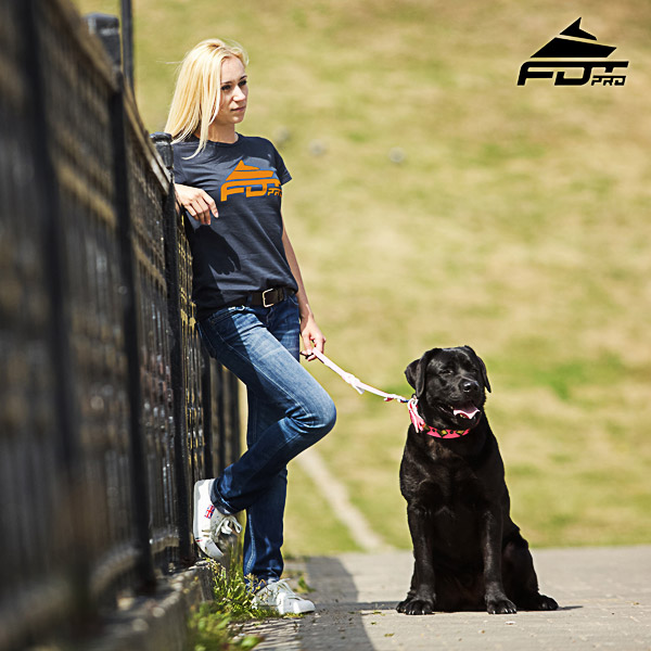 Women T-shirt of High Quality Cotton for Dog Trainers