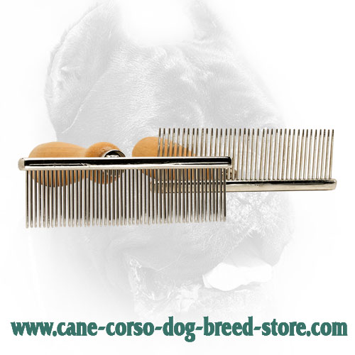 Rustproof Dog Brush for Dog Grooming