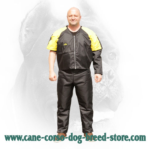 Scratch Suit with Removable Sleeves for Dog Training