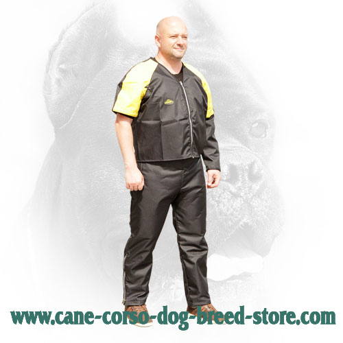 Ultra Lightweight Nylon Scratch Jacket for Cane Corso Training