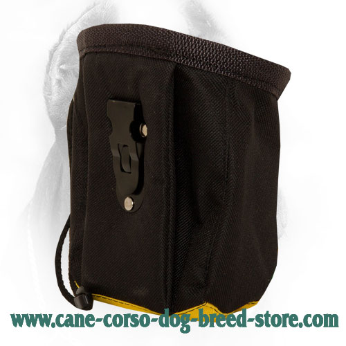 Nylon Dog Treat Bag for Feeding Your Cane Corso During Training