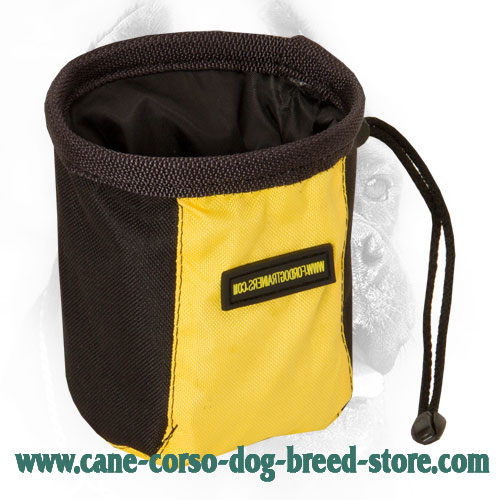 Hands-Free Dog Treat Bag for Feeding Your Cane Corso