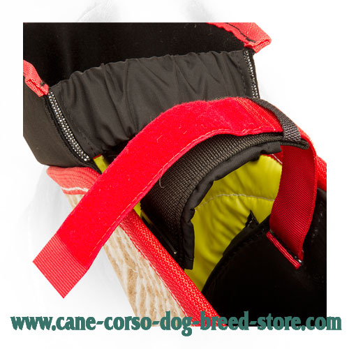 Easily Adjustable Strap on Durable Cane Corso Bite Sleeve