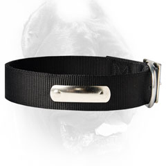 Demandable nylon dog collar