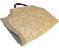 Extra Strong Tear Resistant Jute Cover for Cane Corso Bite Sleeve