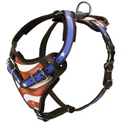 Well-made comfortable dog harness