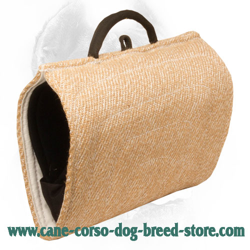 Easy in Use Jute Cane Corso Bite Builder for Advanced Bite Training