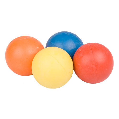 Colored Rubber Ball for Training and Having Fun