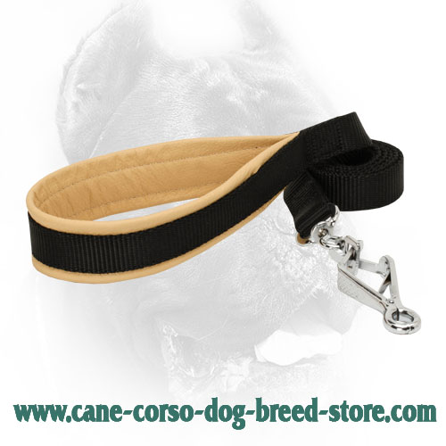 Dog nylon leash for dealing with Cane Corso